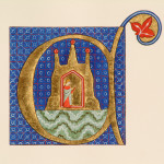 Luttrell Psalter Illuminated C by Toni Watts