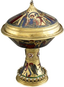 Medieval art techniques - The Royal Gold Cup