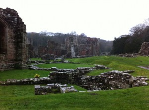 Furness Abbey - view of site