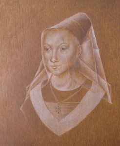 The underpainting, complete