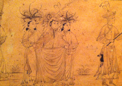 Courtauld exhibition Iranian 14th century drawing