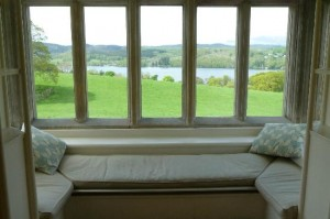 Blackwell arts and crafts house window seat
