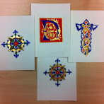 Spring manuscript illumination workshops