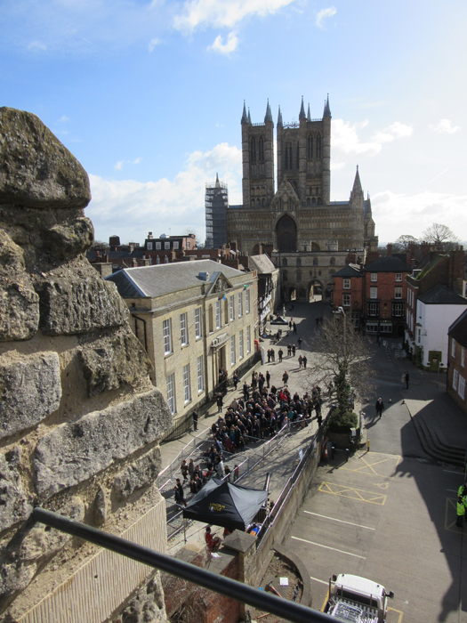 Our beautiful Cathedral, seen from the Castle.