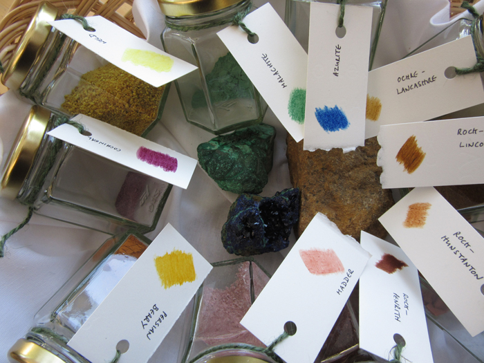 Extracting natural pigments by Toni Watts